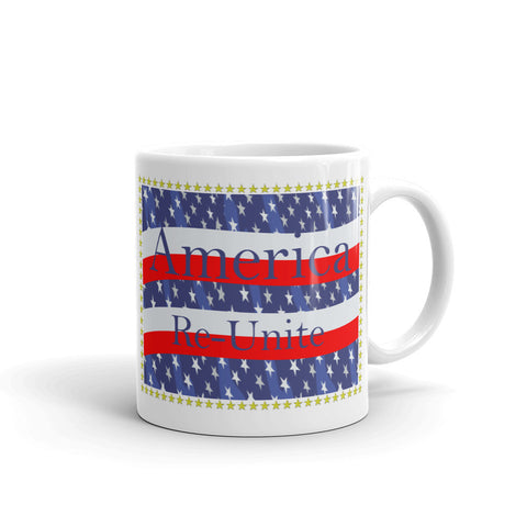 America Re-Unite coffee mug, Valentine's Day Gift For Him Her, Boyfriend Coffee Mug, Mug Gift, Girlfriend gift, Office Gift, Mothers Day,