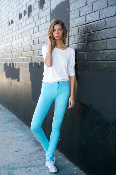 511S - Colored Knit Pants