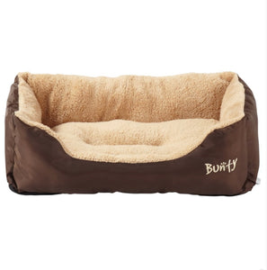 Bunty Deluxe Soft Washable Dog Pet Warm Basket Bed