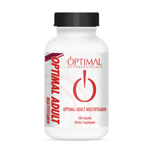 Load image into Gallery viewer, OPTIMAL ADULT MULTIVITAMIN (Foundation Adult Multivitamin)