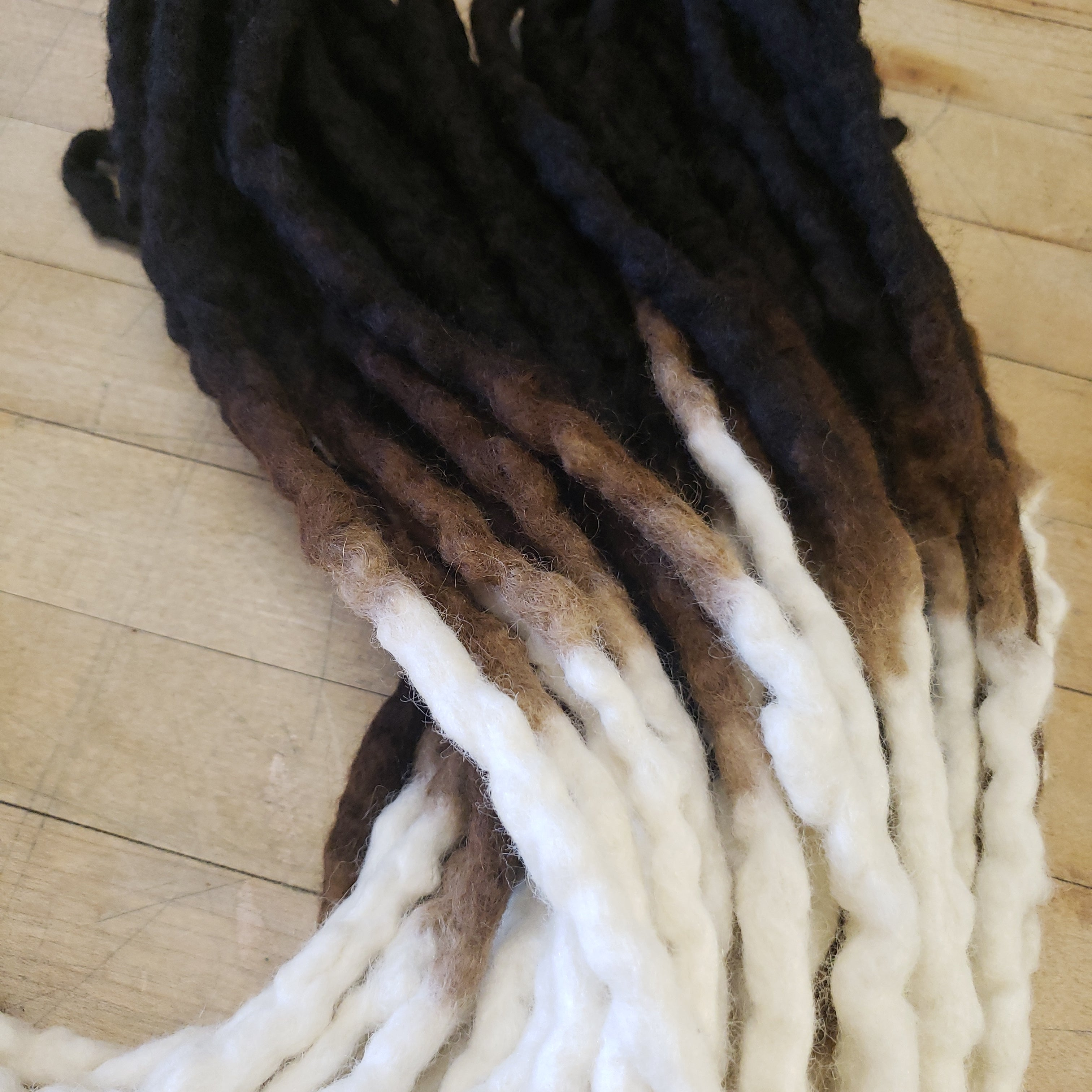 Double Ended Woll Dreadlock set of 50