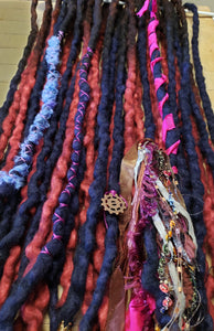 Double Ended Dreadlock set Ready to ship