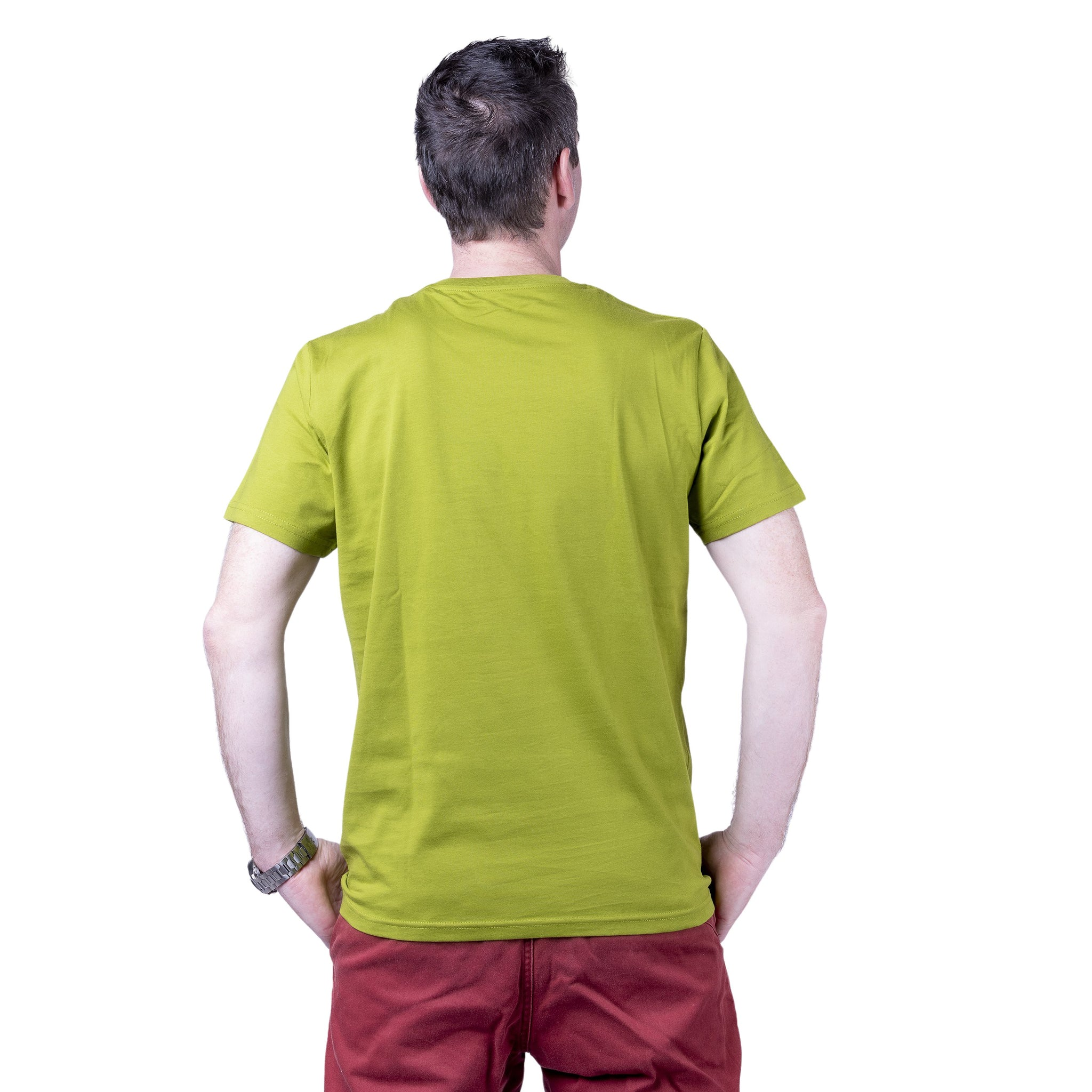 "Ecolodge | Herren T- Shirt ""Trail"" moss green"