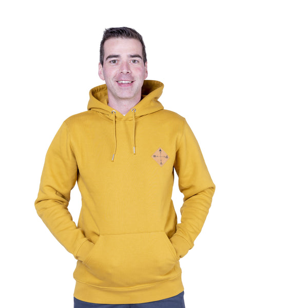 "Ecolodge | Damen Hoody ""Snappy"" ochre"