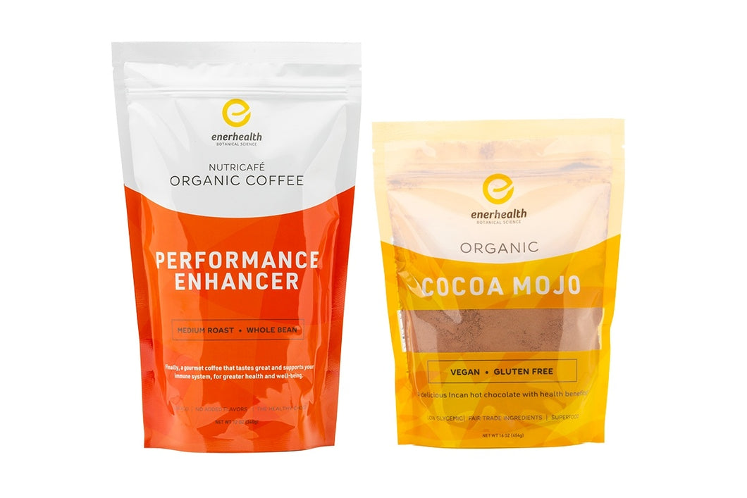 Cocoa Mojo & Organic Performance Coffee Combo