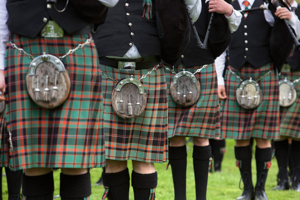 Scottish and the history of Plaid