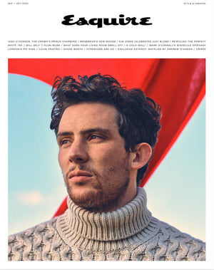 Que Shebley featured in Esquire Magazine UK September 2020