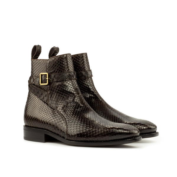 Easton Jodhpur Python Boots - Q by QS