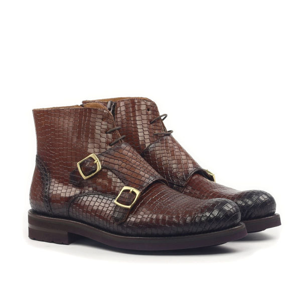 DOUBLE MONK STRAP CHUKKA BOOT