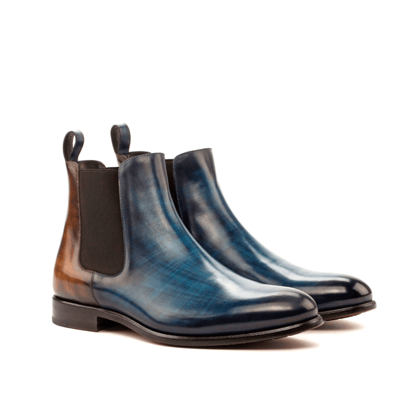 Babak Patina Chelsea Boots - Q by QS