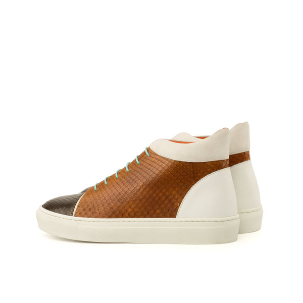 Melqart Python High Top Sneakers