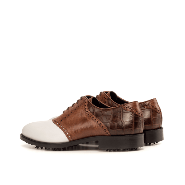 Dopud saddle golf shoes