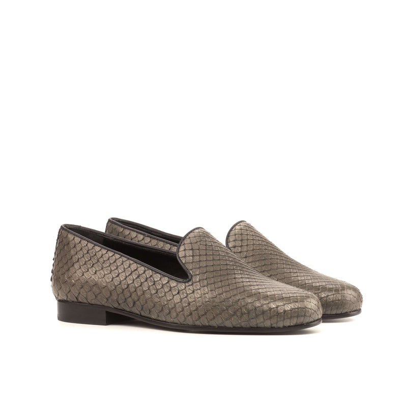 Allisa Audrey Python Slipper - Q by QS