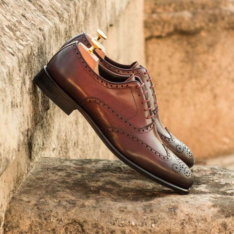 Ahote Full Brogue shoes - Q by QS