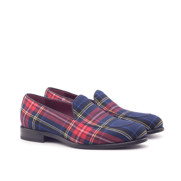 Master Windowpane Loafers - Q by QS