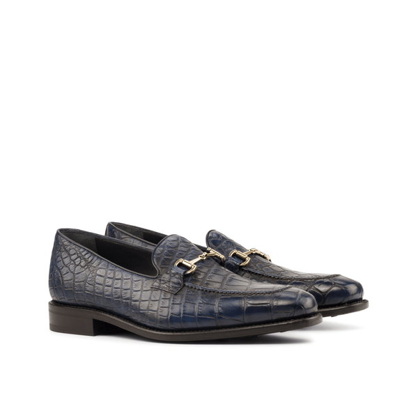 Daurud Alligator Loafers - Q by QS