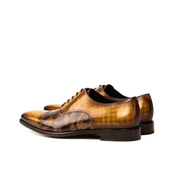 Agent Oxford patina shoes - Q by QS