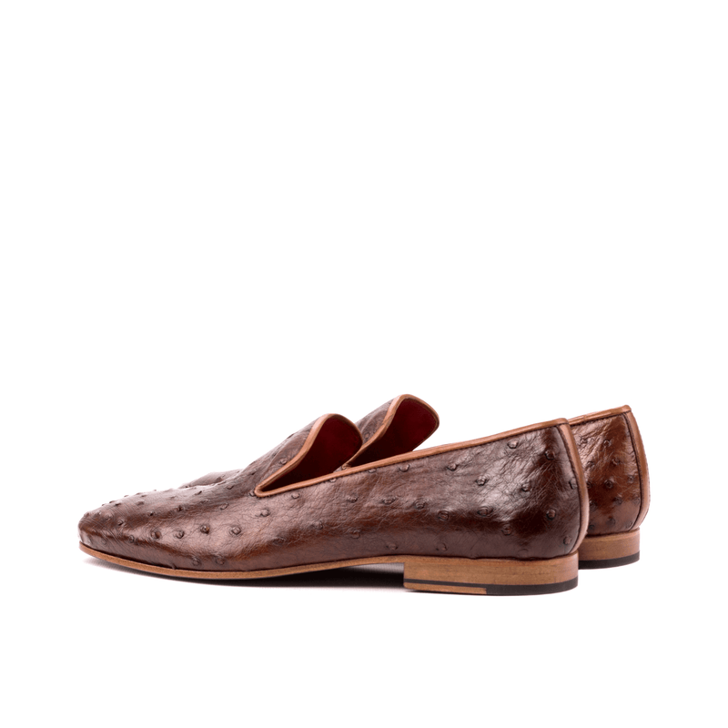 Basil Drake Ostrich Slip on - Q by QS