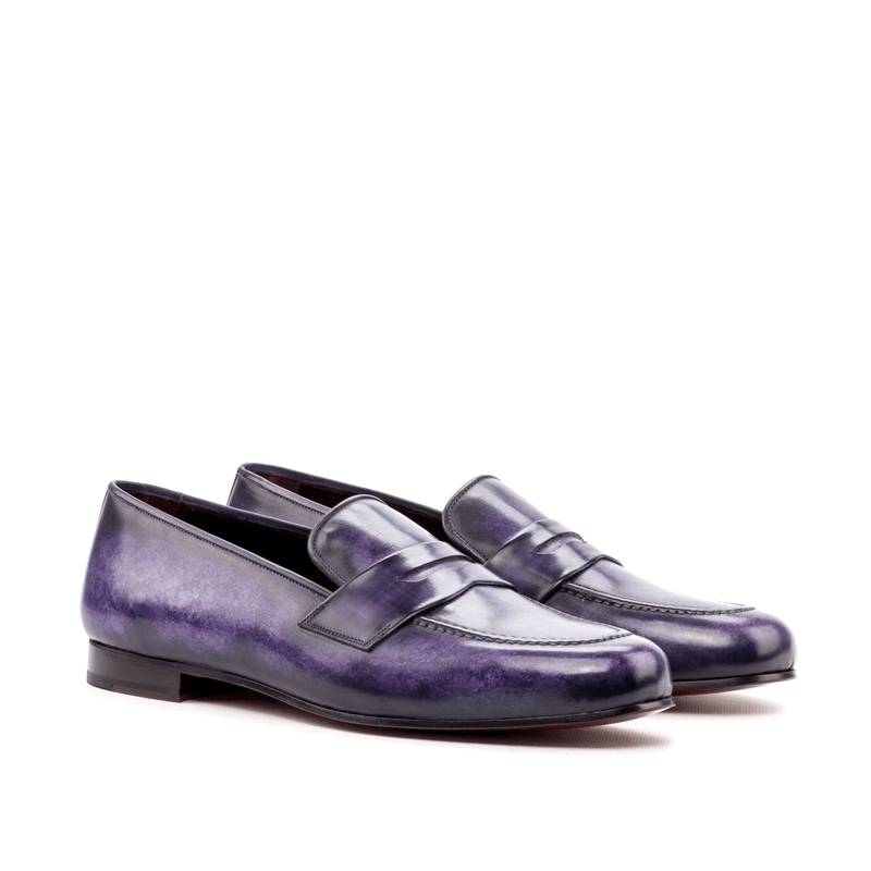 Euclid Wellington Patina slip on - Q by QS