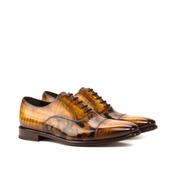 Agent Oxford patina shoes