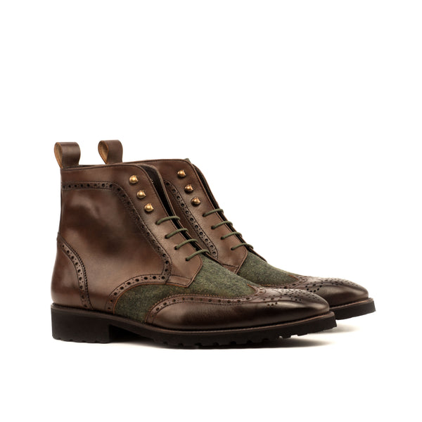 Gotta Military Brogue Boots