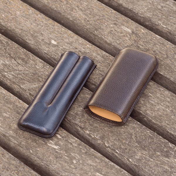 Cubano Double Cigar Case - Q by QS