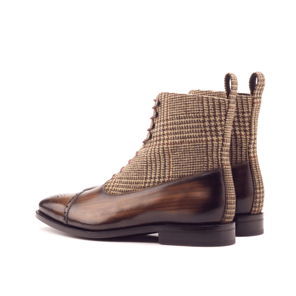 Caine Balmoral Boots - Q by QS