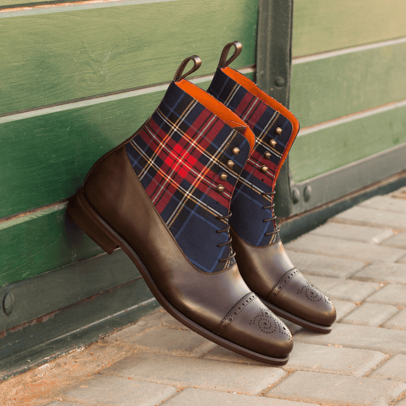 Marvelous Balmoral Boots - Q by QS