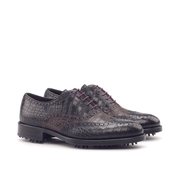 Bobby Full Brogue golf shoes - Q by QS
