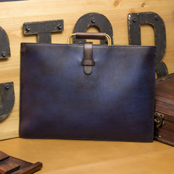 AtA Patina Satchel Bag - Q by QS