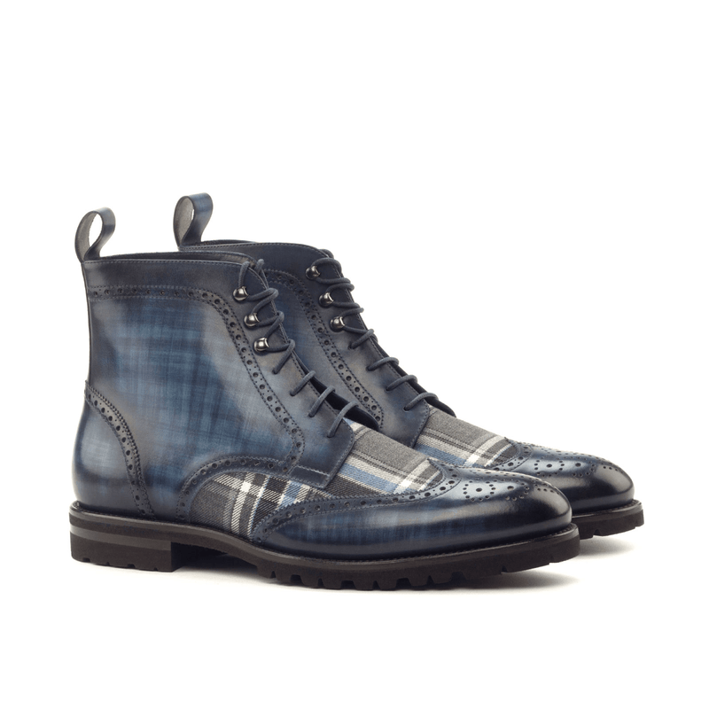 Zeno Military Brogue Boots