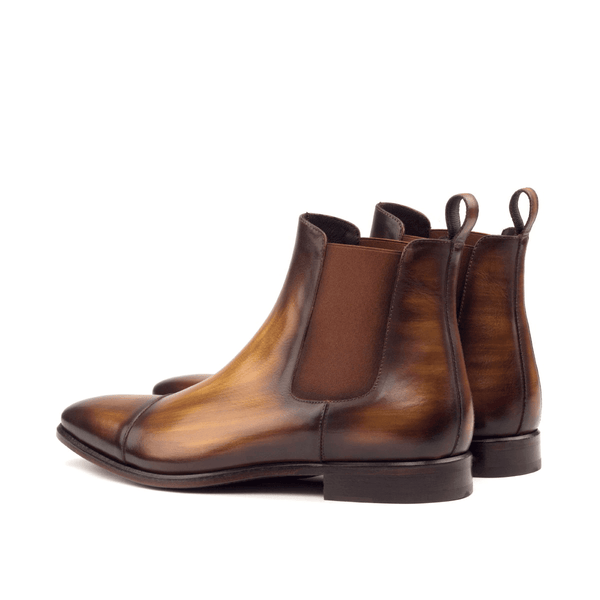 Caratacos Patina Chelsea Boots - Q by QS