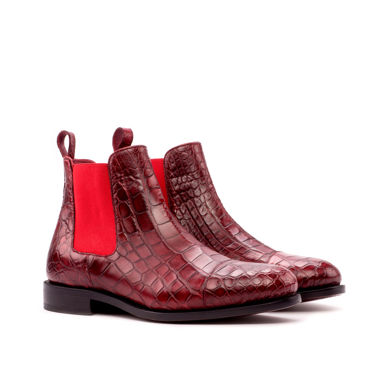 Rosalio Alligator Chelsea Boots - Q by QS