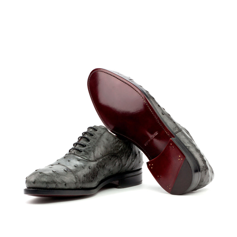 Murtorallo Oxford Ostrich shoes - Q by QS