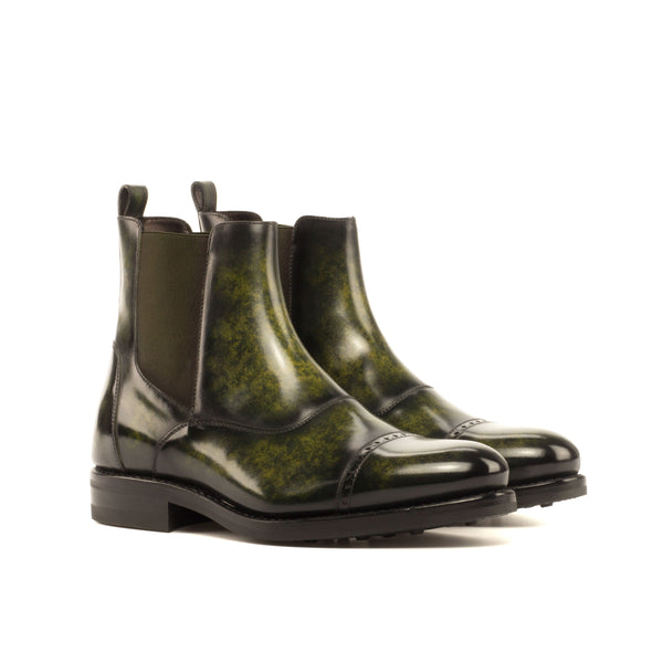 Wardon Patina Chelsea Boots