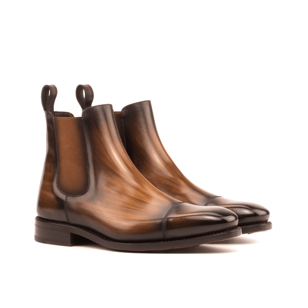 Chayton Patina Chelsea Boots - Q by QS