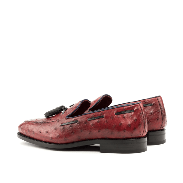 Duris Ostrich Loafers - Q by QS