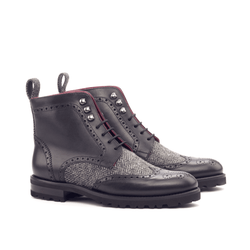 Camilla Ladies Military Brogue Boots - Q by QS