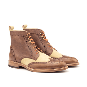 Zoticus Military Brogue Boots