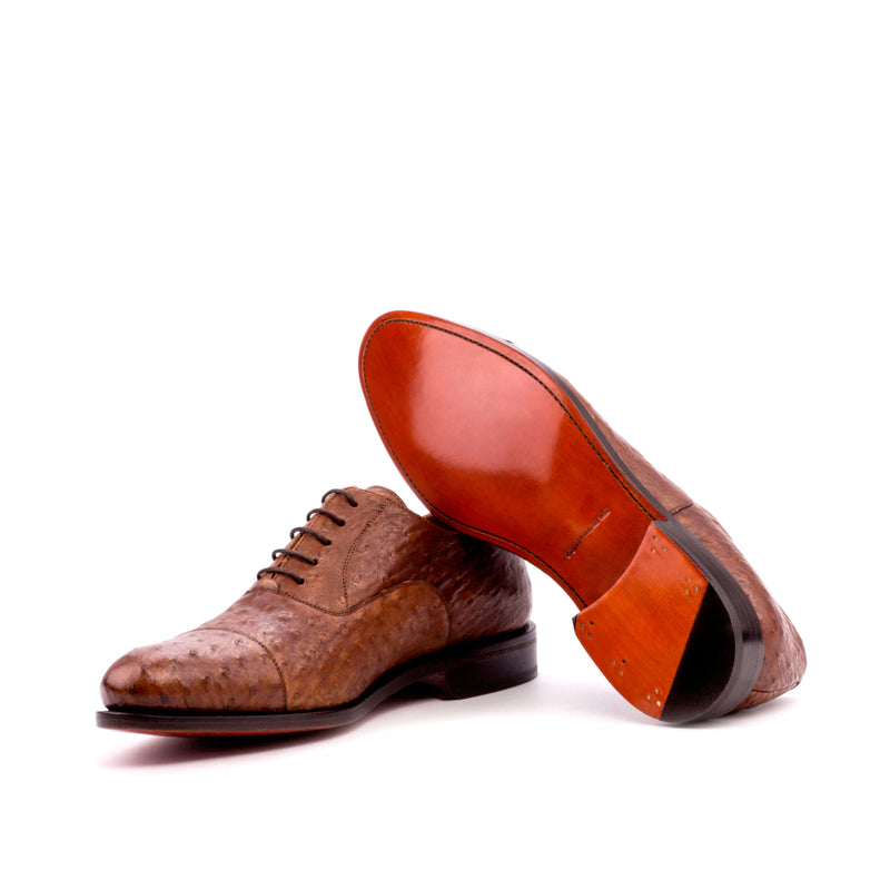 Darwin Oxford Ostrich shoes - Q by QS
