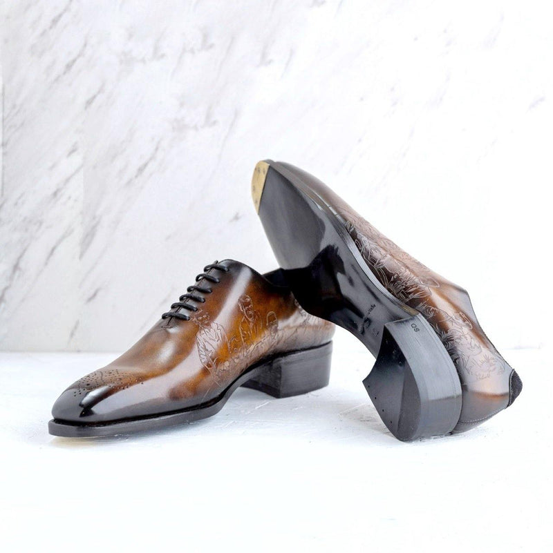 El President Patina Whole cut Shoes