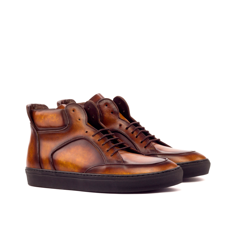 Woodward High Top Patina Sneakers