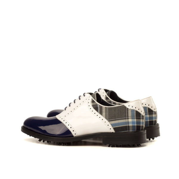 Darius saddle golf shoes