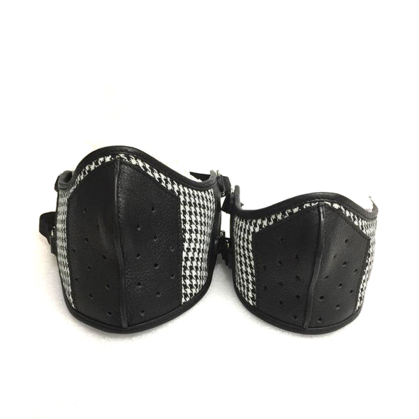 Vogue Houndstooth Mask