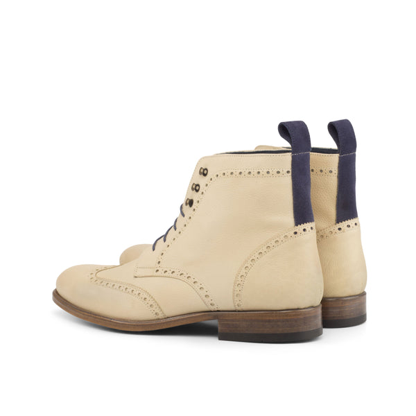 R04 Military Brogue Boots - Q by QS