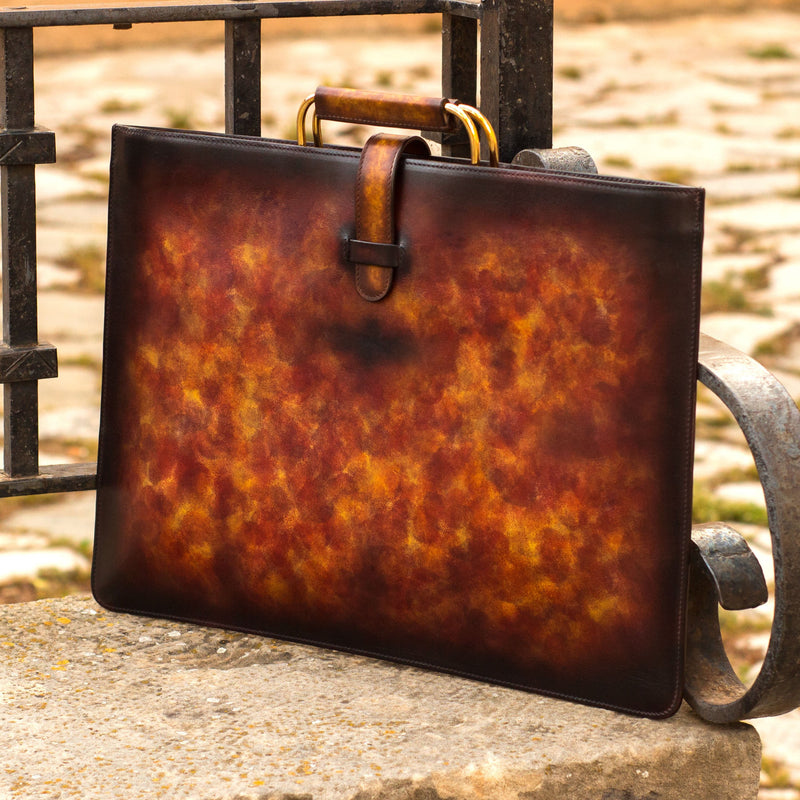 Raging Satchel Patina Bag - Q by QS