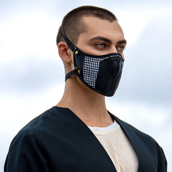 Vogue Houndstooth Mask - Q by QS