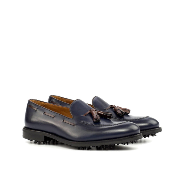 Marine loafer golf shoes