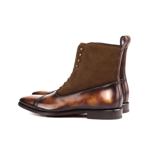 Chavez Patina Balmoral Boots - Q by QS