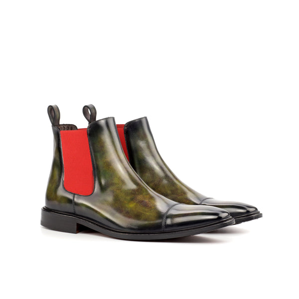 Salvatore Patina Chelsea Boots - Q by QS
